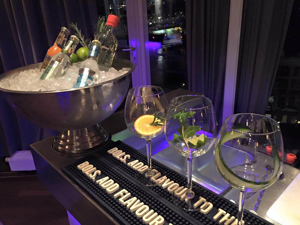 Gin & Tonic Catering MCKinsley & Company Nederland