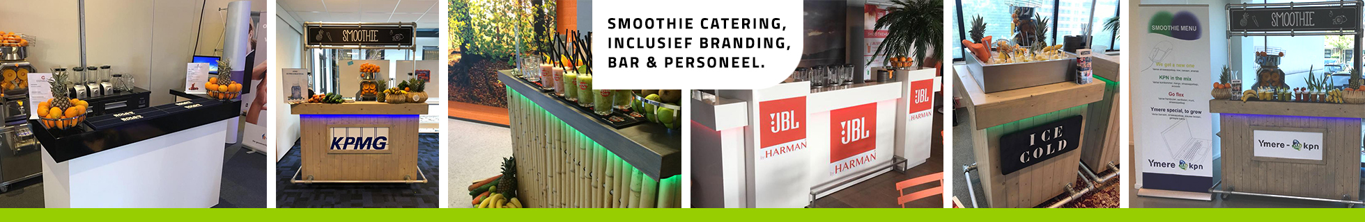 Smoothie catering
